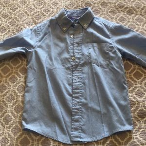 French Toast Shirts & Tops - Boys Blue button down shirt